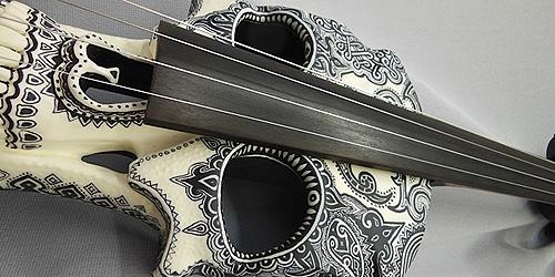 Violino Skull